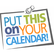 put on calendar clipart